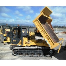 KOMATSU CD60R rotating maggot Crawler Carrier for Rental / Lease